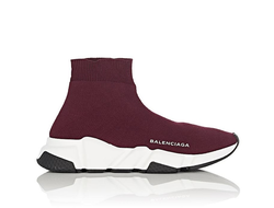 Balenciaga Speed trainer Бордовые (36-41)