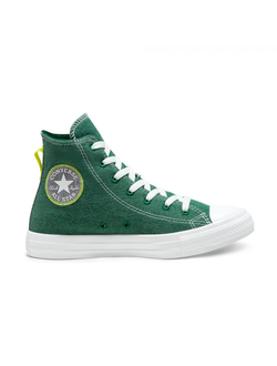 Кеды Converse Star Renew Cotton High Top зеленые