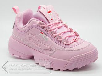 df05af3de87d Купить кроссовки Fila Disruptor 2 женские розовые арт.F04 в СПб