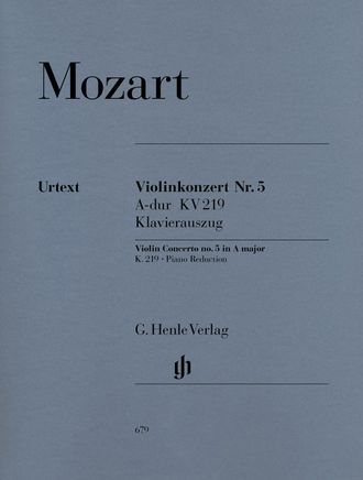 Mozart Violin Concerto no. 5 A major K. 219