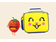 Ланчбокс UPixel WY-B015 Bright Colors Lunch Box желтый синий