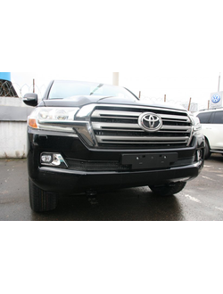 Premium защита радиатора для Toyota Land Cruiser 200 (2015-) к-т 2ч. Код: mh121