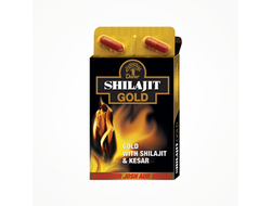 Шиладжит Голд (Shilajit gold and Kesar) 10кап
