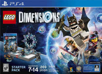 # 71171 Стартовый Набор ― Play Station 4 / DIMENSIONS Starter Set: PS4