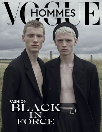 Vogue Hommes Magazine # 30 Fall-Winter 2019 Braien Vaiksaar Иностранные журналы Photo Fashion