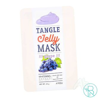 Маска тканевая A'pieu Tangle Jelly Mask Grape с экстрактом винограда