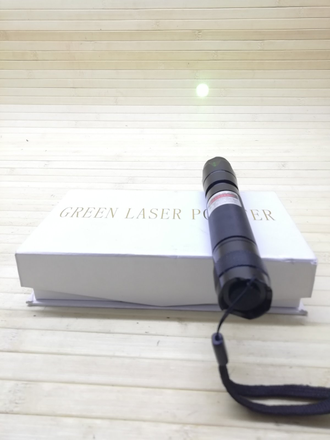 Лазерная указка (green laser pointer)