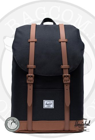 Herschel Retreat Mid Volume Apricot Brandy/Saddle Brown