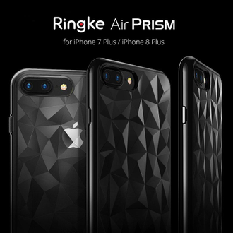 Чехол на Apple iPhone 7+ и 8+, Ringke серия Air Prism, цвет темный (Smoke Black)