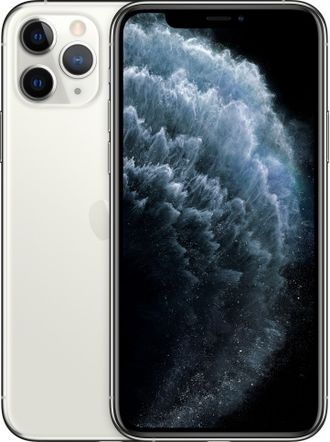 iPhone 11 Pro 256gb Silver - MWC82RU/A - Ростест