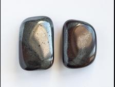Авантюрин черный, галтовка в ассортименте, США (26-29 мм, 11-13 г) №18683