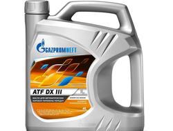 Gazpromneft ATF DX III 4л