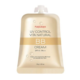 ВВ крем Purederm UV Control Vita Natural BB Cream SPF41/PA++
