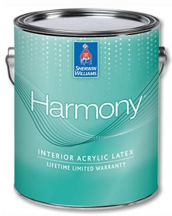 Sherwin Williams Harmony натуральная суконно-матовая Американская Эко-Краска