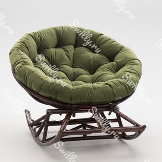 Кресло Swilly Rocker Papasan 8 орех