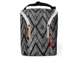 Термосумка Skip Hop Double Bottle Bag Zig Zag Zebra