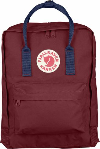 Рюкзак Fjallraven Kanken Ox Red/Royal Blue (Classic)
