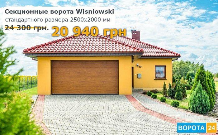 ворота гаражные Вишневски Киев