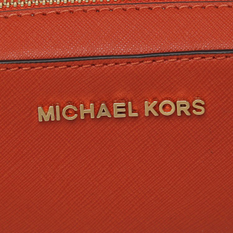 Сумка MICHAEL KORS Jet set travel (Оранжевая)