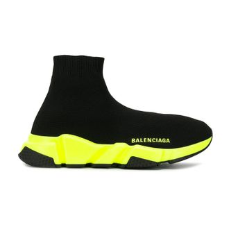 Balenciaga Speed Trainer черно-желтые (36-45)