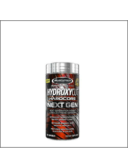 Жиросжигатель Muscletech Hydroxycut Hardcore Next Gen 180 капсул