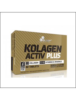 Коллаген Olimp Kolagen active plus 80 tab