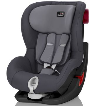 Britax Roemer King II Black Series Storm Grey