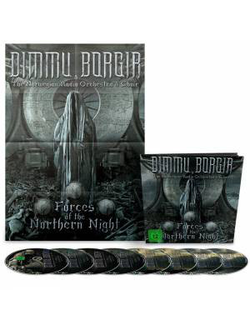 DIMMU BORGIR Forces of the northern night EARBOOK - DELUXE