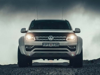 Volkswagen Amarok Arctic Trucks Candy White B4B4 with Carryboy S560 Canopy/Hardtop
