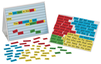 Sentence builder (magnet set)