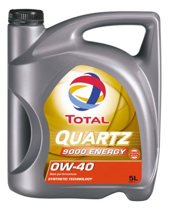 TOTAL QUARTZ 9000 ENERGY 0W40, 5л.