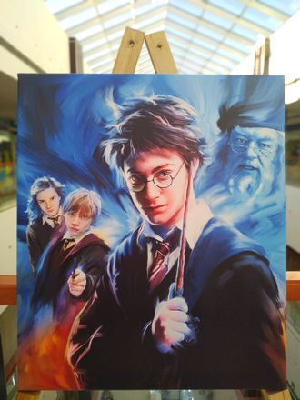 "Картина на холсте ""Гарри Поттер Harry Potter""  60х50 см"