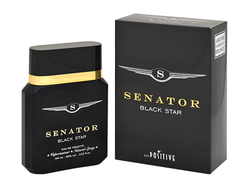 Senator Black Star eau de toilette for men