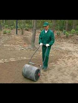 Подготовка основания, завоз грунта