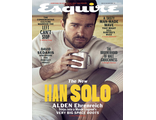 ESQUIRE USA Magazine May 2018 Alden Ehrenreich, Star Wars Cover Мужские иностранные журналы,Intpress