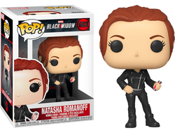 Купить Фигурку Funko POP! Bobble: Marvel: Black Widow: Black Widow (Street) 46679