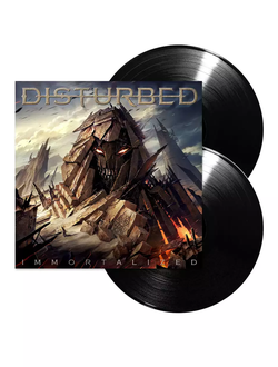 Disturbed - IMMORTALIZED 2-LP