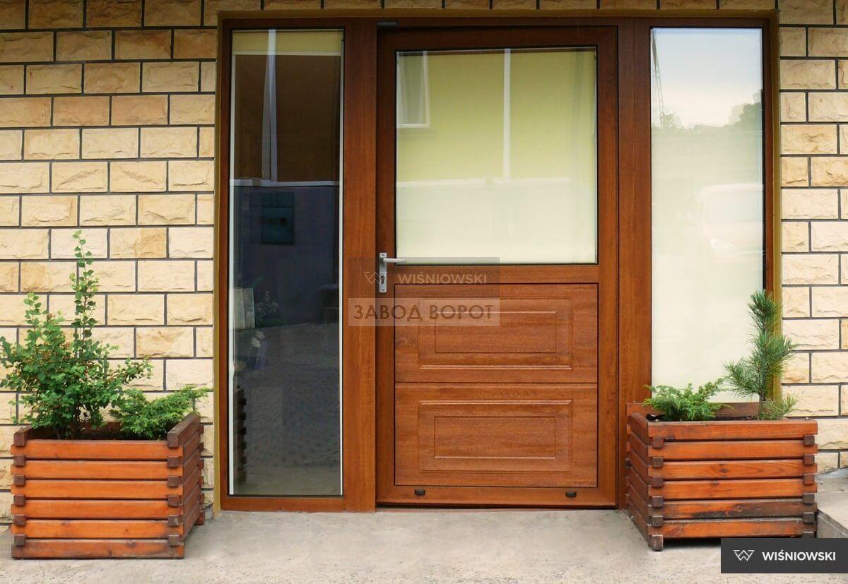 ulichnyie dveri so steklom-Harkov evropeyskie dveri s termorazryivom dlya doma