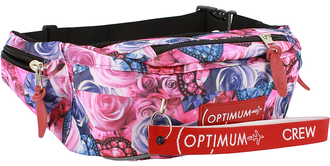 Сумка на пояс Optimum XL Print RL, розы