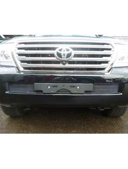 Premium защита радиатора для Toyota Land Cruiser 200 (2012-). Код: mh114