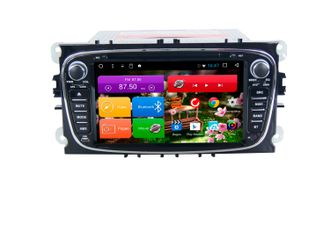 Автомагнитола MegaZvuk T8-7005B Ford Galaxy II (2010-2015) на Android 8.1 Octa-Core (8 ядeр) 7""