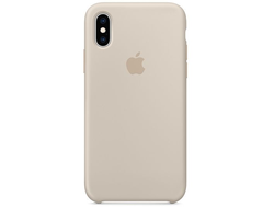 Чехол-накладка Apple Silicone Case iPhone Beige