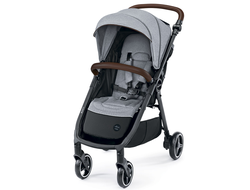 Коляска Baby Design Look 2020 27 Light Gray