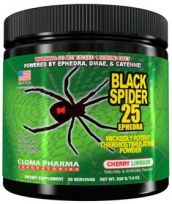 Cloma Pharma Pre-workout Black Spider Powder 210g