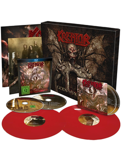 KREATOR Gods of violence BOX SET (alternative cover)