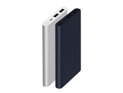 Xiaomi Mi Power Bank 2i New 10 000 mAh 2 USB (2018) черный