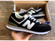 Кроссовки New Balance 574 Black/White сетка