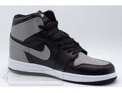 Кеды Air Jordan 1 Mid Black/Grey/White мужские арт. N790