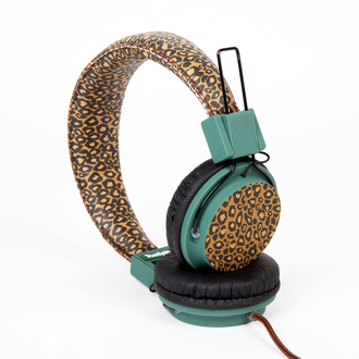 Наушники True Spin Basic II Headphone Leopard