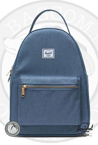 Herschel Nova Small Blue Mirage Crosshatch в магазине Bagcom